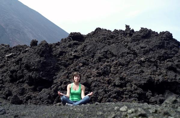 Coulée de lave, Pacaya