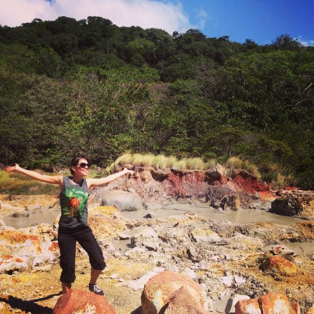 Eloise au Costa Rica Ricon de la Vieja