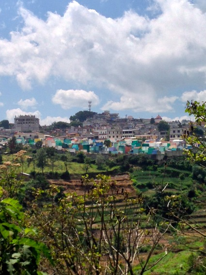 En route vers Panajachel, Atitlan