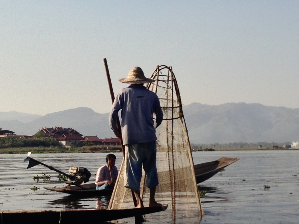 Pêcheur - Lac Inle