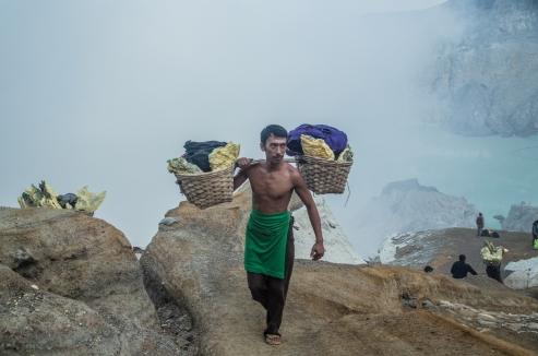 Supnu, mineur, 34 ans. Photo: Jérôme Hof