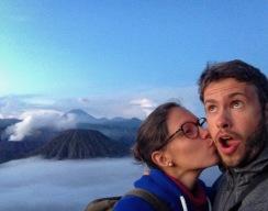 Selfie de volcans!