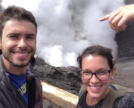 2 amoureux et un volcan