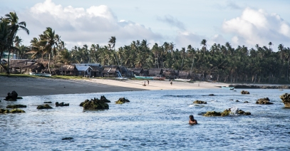 Village à Siargao, photo Jerome Hof