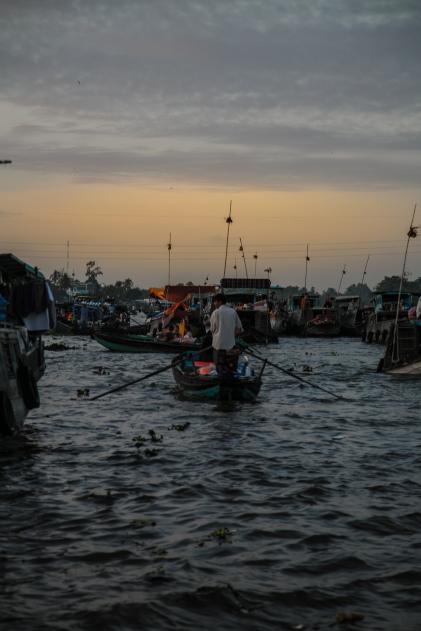Marché flottant - Cai Rang