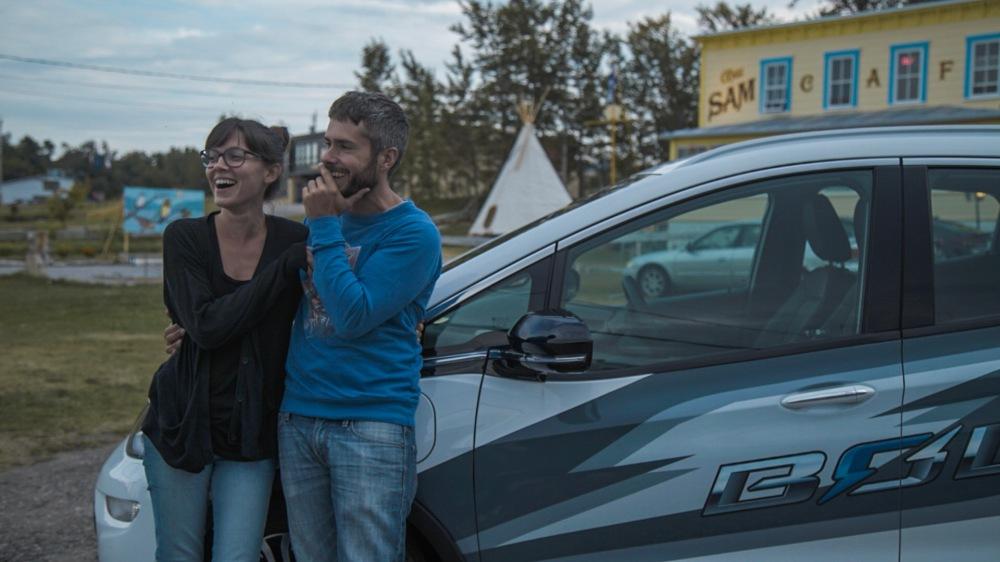 Jérôme et Éloïse à Baie Ste-Catherine